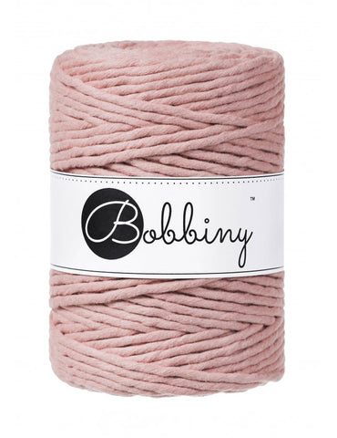 Blush Bobbiny 5mm Macrame Rope 100m