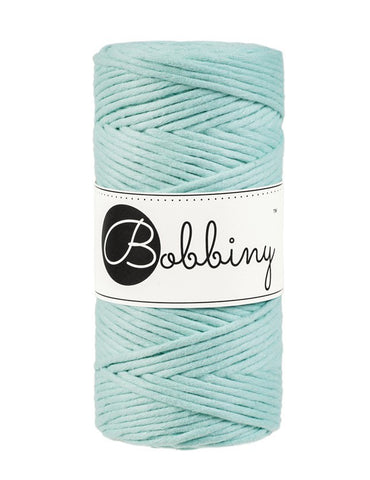 Mint Bobbiny 3mm Macrame Rope 100m