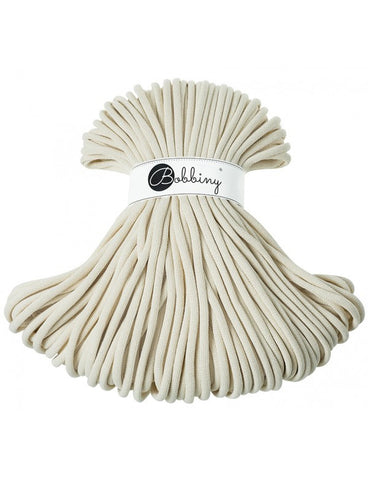 Natural Bobbiny Jumbo Rope 100m