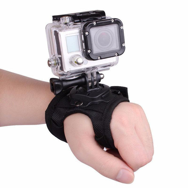 PINkart-USA 360Degree Rotation Wrist Hand Strap Belt Mount For Gopro Hero 4 3 Xiaomi Yi Sj4000 Sj5000 Sj7000