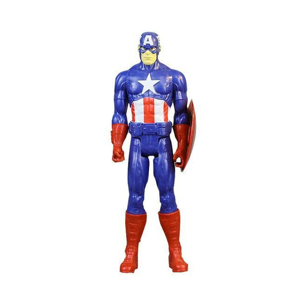 30Cm Marvel Avengers Infinity War Spiderman Iron Man American Captain Thor Action Figure Black