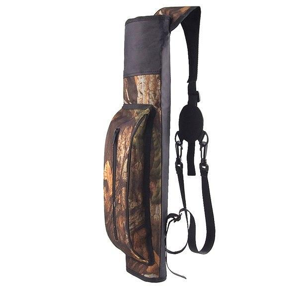 PINkart-USA Camo 1Pc Shoulder Quiver Arrows Hunting Archery Quiver Compound Bow Arrow Quiver Recurve Bow Arrow Bag
