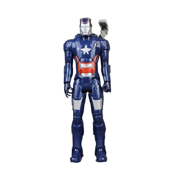 PINkart-USA D 30Cm Marvel Avengers Infinity War Spiderman Iron Man American Captain Thor Action Figure Black