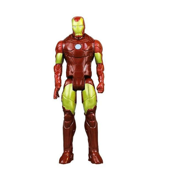 PINkart-USA F 30Cm Marvel Avengers Infinity War Spiderman Iron Man American Captain Thor Action Figure Black