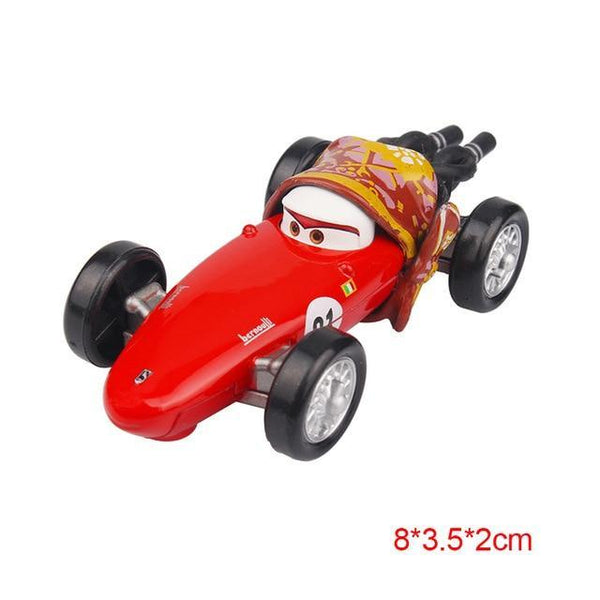PINkart-USA Mother Pixar Cars 2 3 Lightning Mcqueen Mater Jackson Storm Ramirez 1:55 Diecast Vehicle Metal Alloy Boy