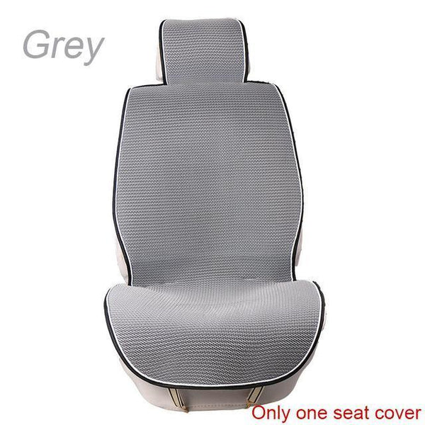 PinKart-USA Online Shopping 1 pc Gray 1 Pc Breathable Mesh Car Seat Covers Pad Fit For Most Cars /Summer Cool Seats Cushion Luxurious