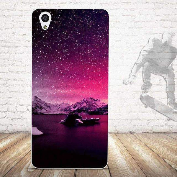 PinKart-USA Online Shopping 17 For Oneplus X Case Cover Relief Painting Back Cover For One Plus X / 1+X Cases Silicon Cell Phone