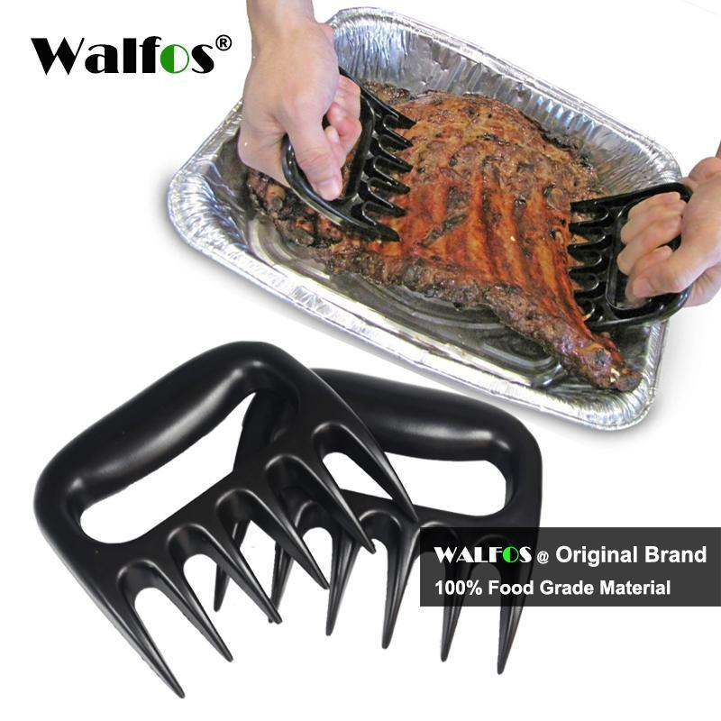 PinKart-USA Online Shopping 2 Piece Bear Meat Claws Handler Barbecue Fork Tongs Pull Shred Pork Bbq Barbecue Tool