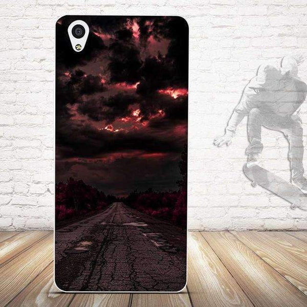 PinKart-USA Online Shopping 4 For Oneplus X Case Cover Relief Painting Back Cover For One Plus X / 1+X Cases Silicon Cell Phone