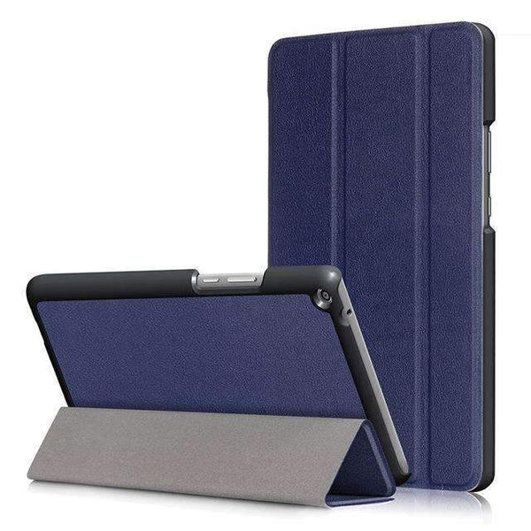 PinKart-USA Online Shopping Dark blue Ultra Slim Cover Case For Huawei Mediapad T3 8.0 Kob-L09 Kob-W09 Funda Tablet Pu Stand Case For