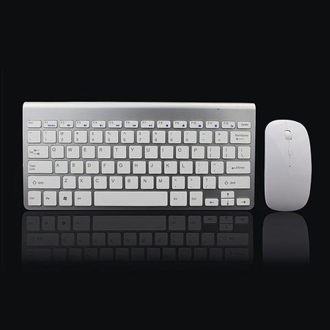 PINkart-USA Online Shopping Default Title 2.4Ghz Ultra-Thin Wireless Keyboard And Mouse Combo With Usb Receiver Mouse Keyboard Set For
