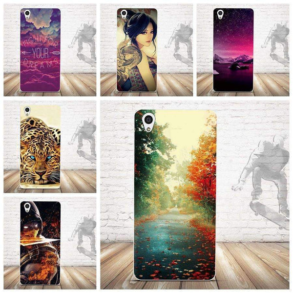 PinKart-USA Online Shopping For Oneplus X Case Cover Relief Painting Back Cover For One Plus X / 1+X Cases Silicon Cell Phone