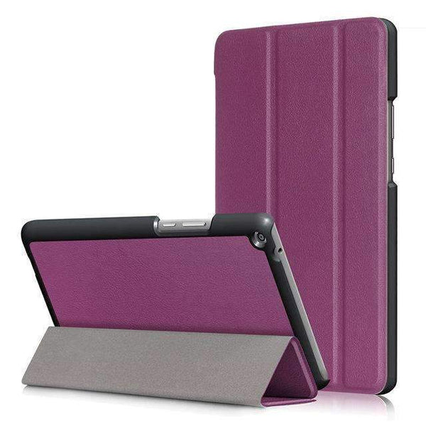 PinKart-USA Online Shopping Purple Ultra Slim Cover Case For Huawei Mediapad T3 8.0 Kob-L09 Kob-W09 Funda Tablet Pu Stand Case For
