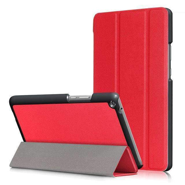 PinKart-USA Online Shopping Red Ultra Slim Cover Case For Huawei Mediapad T3 8.0 Kob-L09 Kob-W09 Funda Tablet Pu Stand Case For