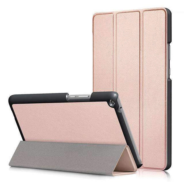 PinKart-USA Online Shopping Rose gold Ultra Slim Cover Case For Huawei Mediapad T3 8.0 Kob-L09 Kob-W09 Funda Tablet Pu Stand Case For