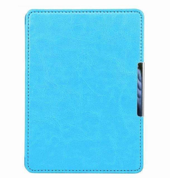 PinKart-USA Online Shopping sky blue Magnet Clasp Flip Leather Case Cover For Kindle 8Th Generation Fundas For Amazon Kindle 8