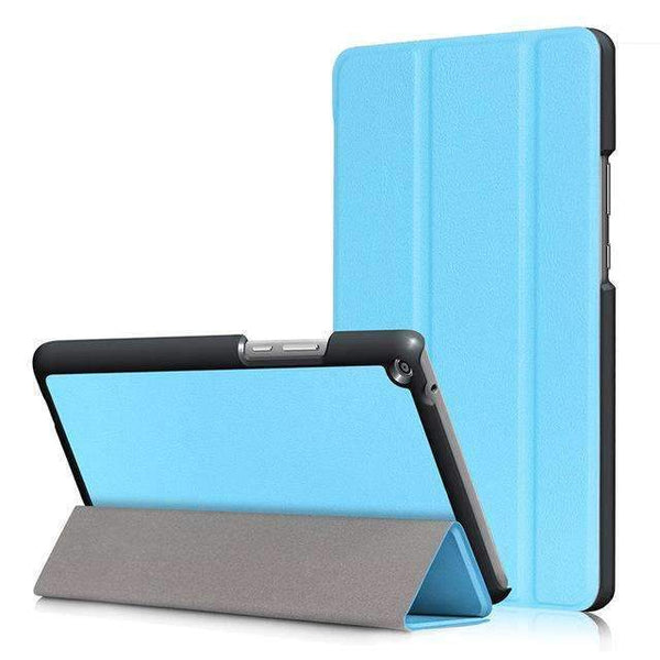PinKart-USA Online Shopping Sky blue Ultra Slim Cover Case For Huawei Mediapad T3 8.0 Kob-L09 Kob-W09 Funda Tablet Pu Stand Case For