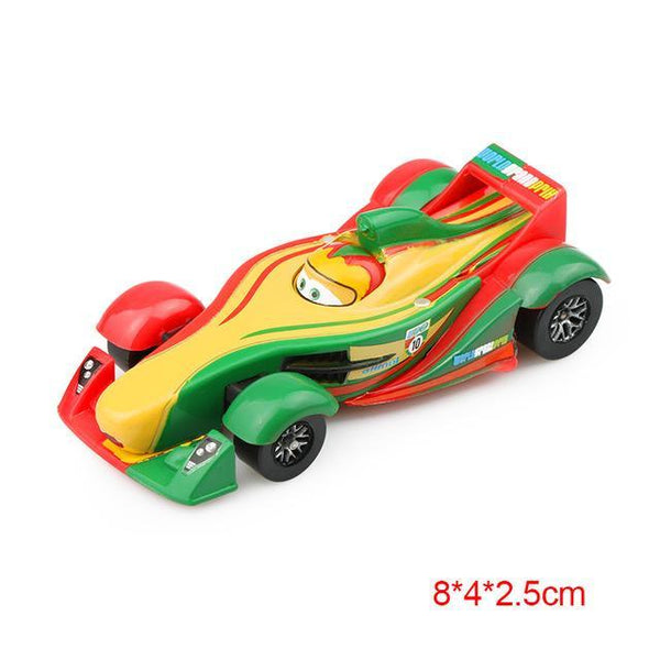 PINkart-USA Portugal Pixar Cars 2 3 Lightning Mcqueen Mater Jackson Storm Ramirez 1:55 Diecast Vehicle Metal Alloy Boy
