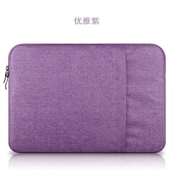 PINkart-USA Purple / for ipad mini 2 3 4 Nylon Laptop Sleeve Notebook Bag Pouch Case For Macbook Air 11 13 12 15 Pro 13.3 15.4 Retina Unisex