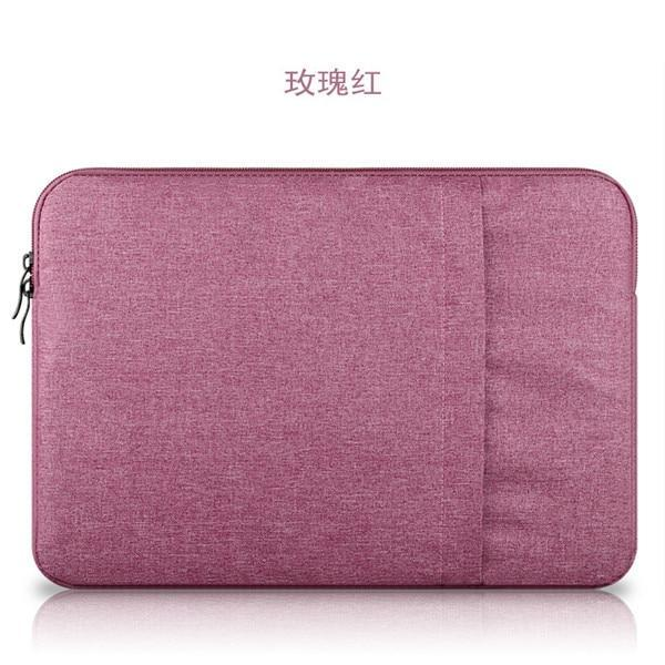 PINkart-USA Rose / for ipad mini 2 3 4 Nylon Laptop Sleeve Notebook Bag Pouch Case For Macbook Air 11 13 12 15 Pro 13.3 15.4 Retina Unisex
