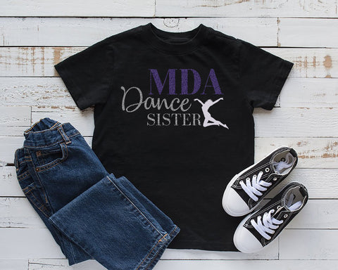 MDA Dance Sister, Dance Cousin, Dance Brother, Middletown Dance Academy