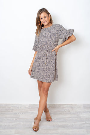ASK ME LATER DRESS - PRINT