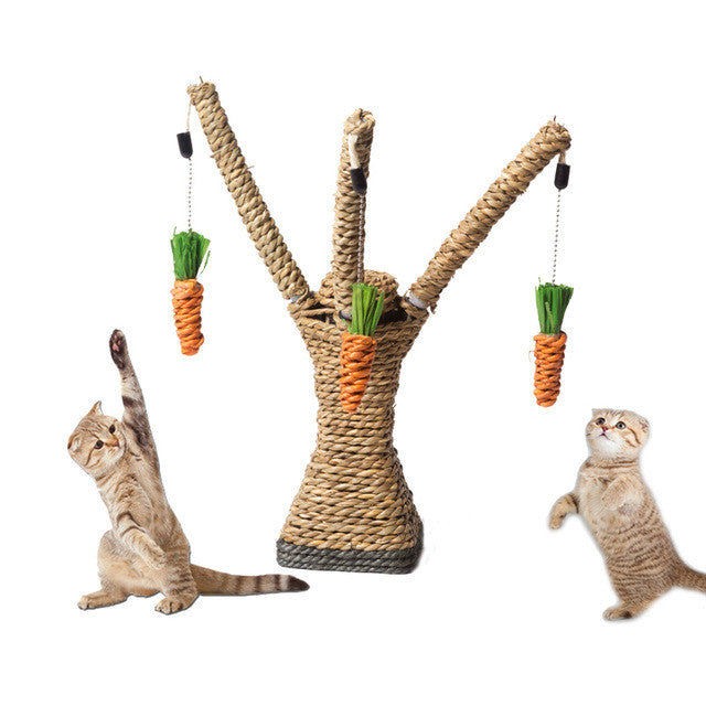 Hanging Carrot Tree Toys
