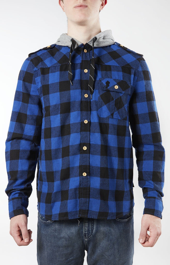 Plaid For The Lad Blue/Black
