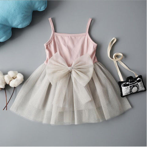 Baby Girls Dress Cotton  Chiffon Tutu Dress