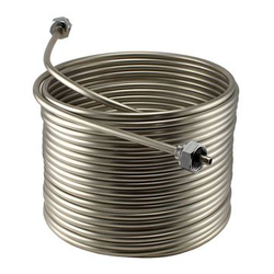"50' x 5/16"" Stainless Steel Jockey Box Coil - Right"