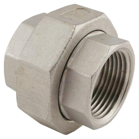 "Stainless Steel Union Coupler - 1"" Female NPT to 1"" Female NPT - Canadian Homebrewing Supplier - Free Shipping - Canuck Homebrew Supply"