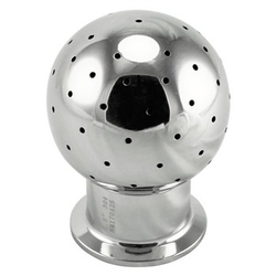 Stainless Steel Tri-Clover Stationary Spray Ball
