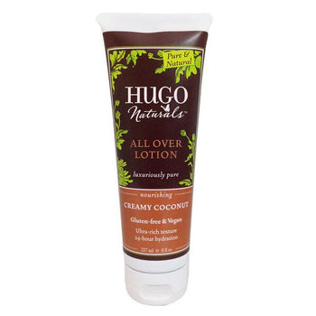 Creamy Coconut All Over Lotion - Camomile Beauty - Green Natural Cruelty-free Beauty Shop