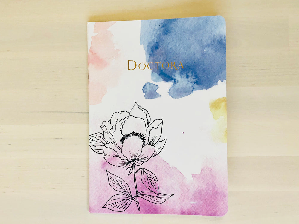 Spring Watercolor Notebook