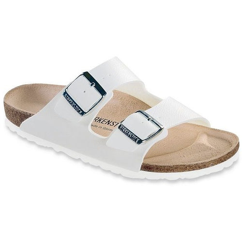 ARIZONA WHITE BIRKO-FLOR NARROW - getset-footwear