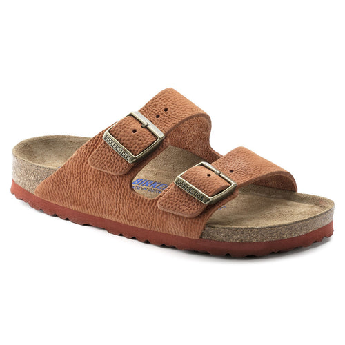 ARIZONA STEER CURRY NUBUCK LEATHER NARROW SOFT FOOTBED - getset-footwear