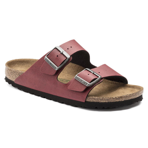 ARIZONA PULL UP BORDEAUX VEGAN BIRKO FLOR NARROW - getset-footwear