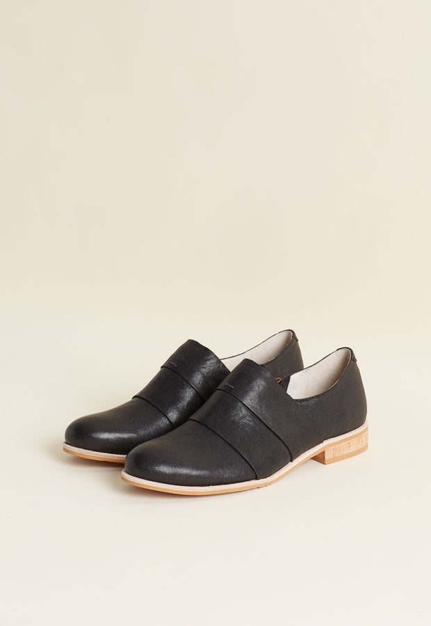 Banded Loafer - Black