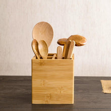 Bamboo Kitchen Storage Container, , Gifts for Designers, Clean minimal gifts for designers and creatives, gift, design, designer - Gifts for Designers, Gifts for Architects