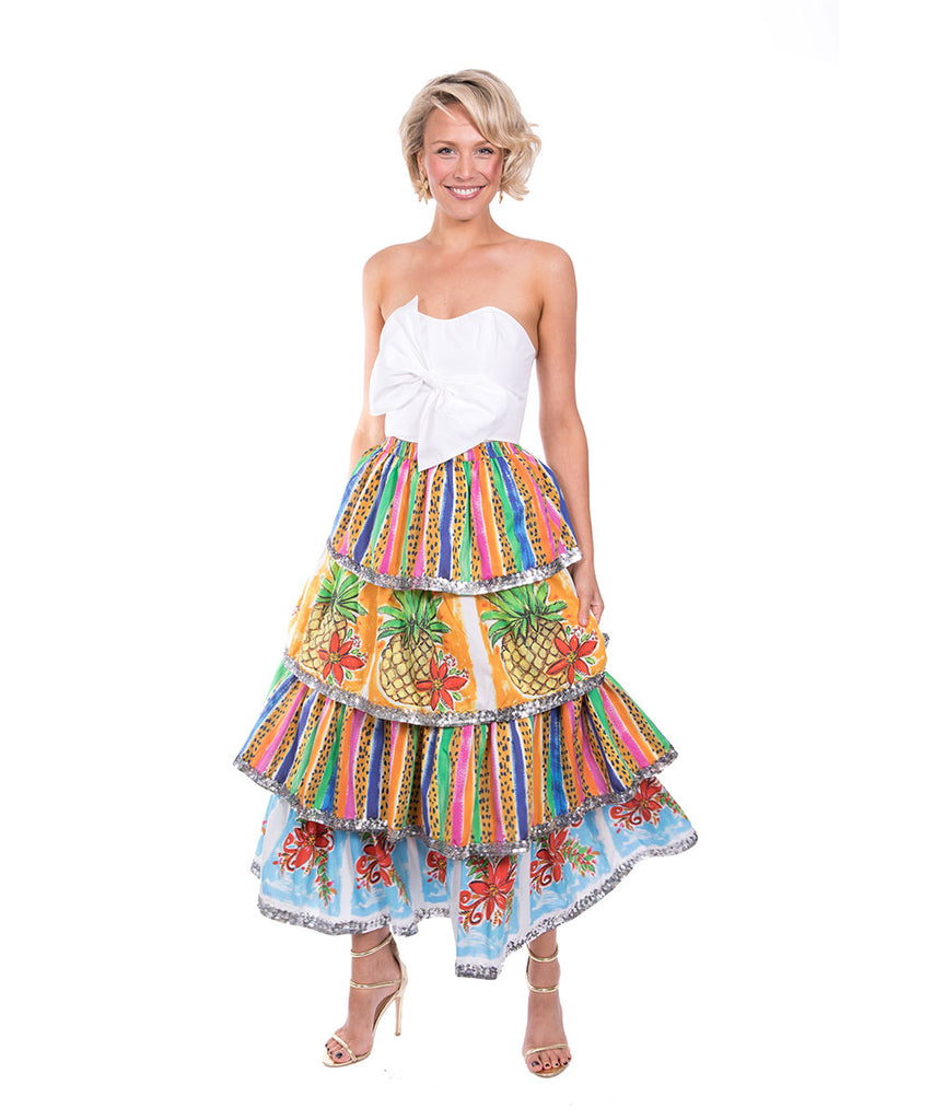 The Maui Ruffle Skirt by Bonita Kaftans