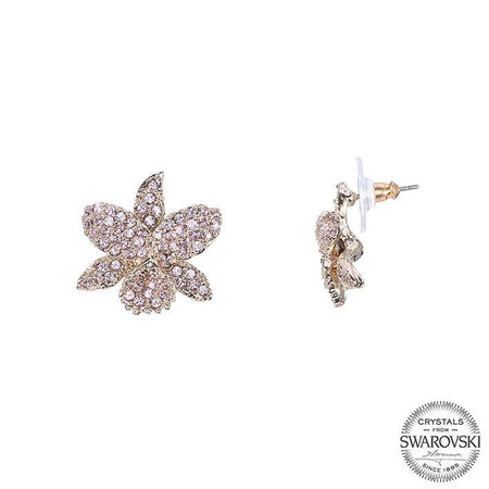 IONE EARRING-RHODIUM WHITE