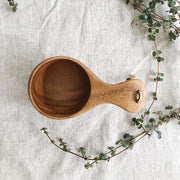 Wooden Rain Cup