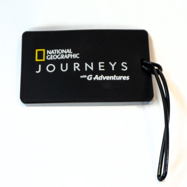 National Geographic Journeys Luggage Tag