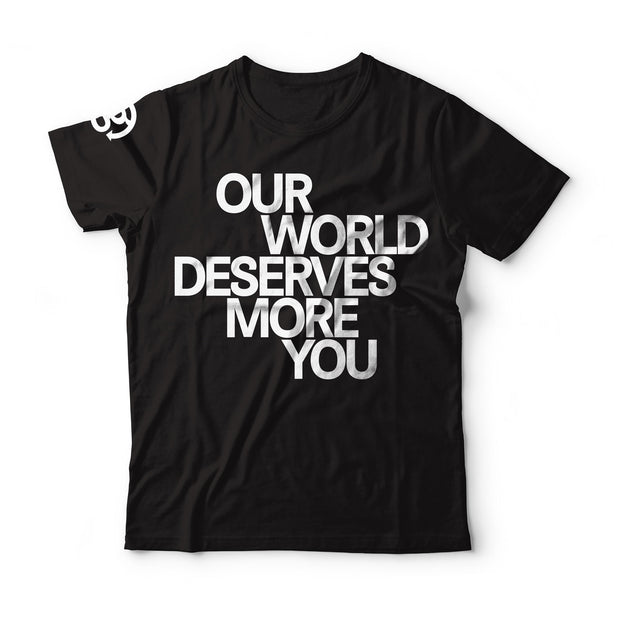 Our World Quote T-shirt - Womens