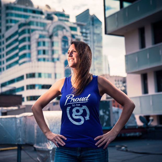 Proud to be G Tank Top - Womens