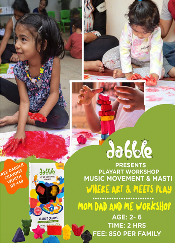 Dabble - Playart workshop Music movement & Masti