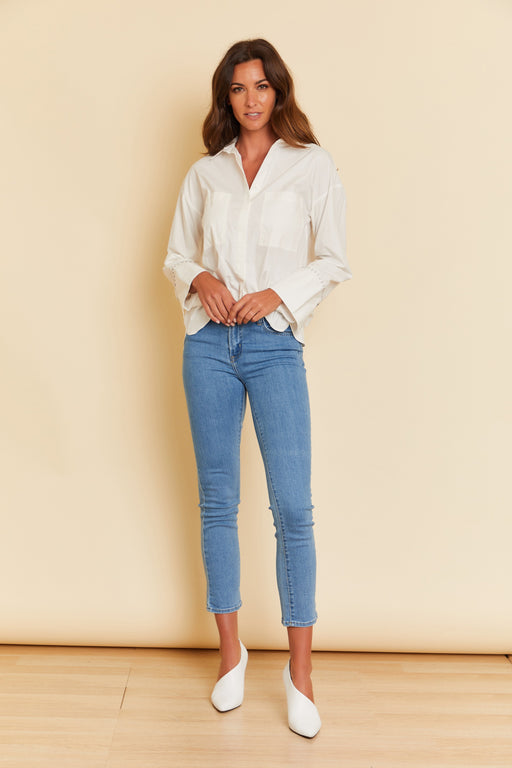 Dani Button Down Top - wearNYLA