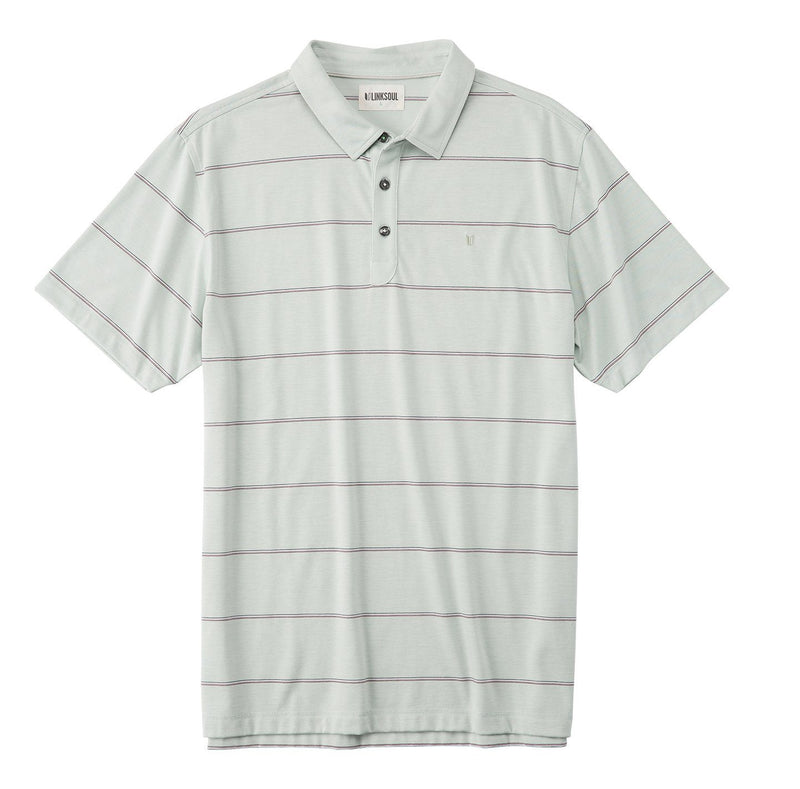 Multi Color Micro Stripe Yarn Dyed Stripe Polo image