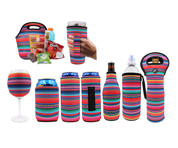 Serape Wine Glass Sleeve