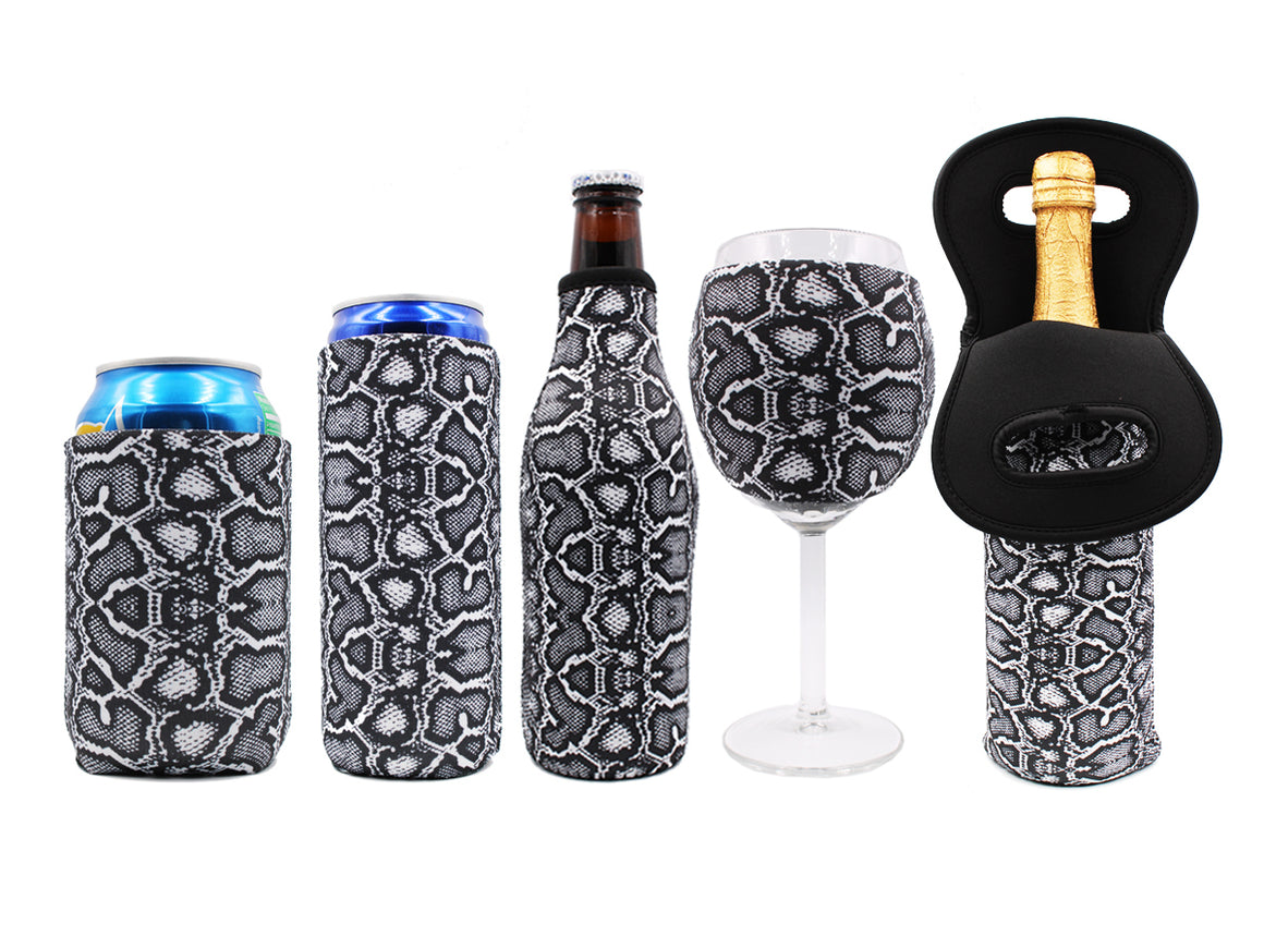 Snakeskin Wine Glass Sleeve